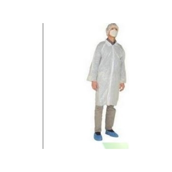 Blouse non tissée polypropylène 40g/m² ( vendu en carton de 50 unités)